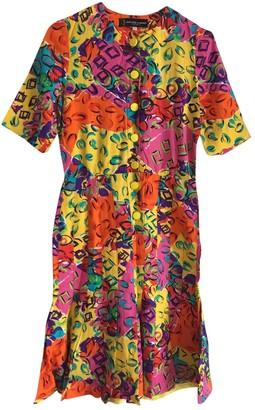 Jean Louis Scherrer Jean-louis Scherrer Multicolour Cotton Dress for Women Vintage