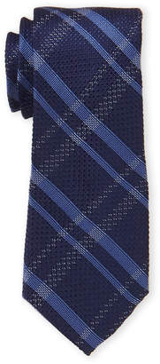 MICHAEL Michael Kors Silk-Blend Plaid Tie
