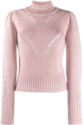 Dondup Roll Neck Cut-Out Detail Jumper