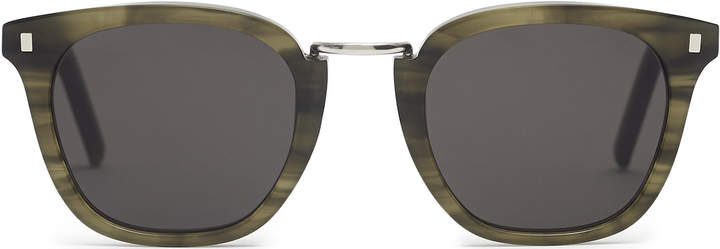 Reiss Ando - Monokel Eyewear Bridge Sunglasses in Khaki
