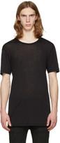 11 By Boris Bidjan Saberi Black Regular Fit T-shirt