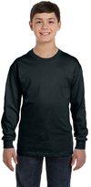 Hanes Youth 6.1 oz. Tagless ComfortSoft Long-Sleeve T-Shirt, XL