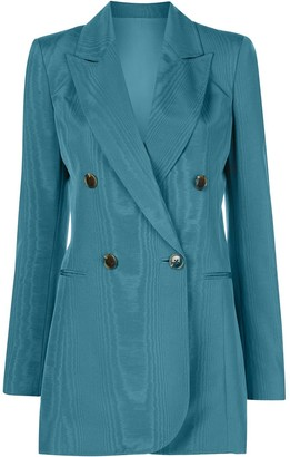 Oscar de la Renta Double-Breasted Blazer