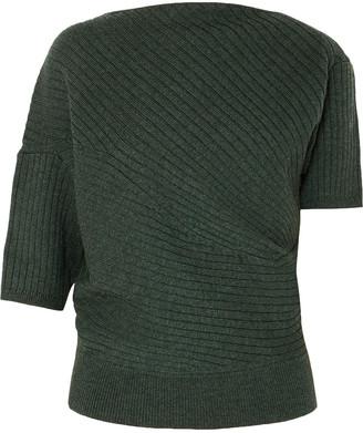 J.W.Anderson Infinity Ribbed Merino Wool Sweater