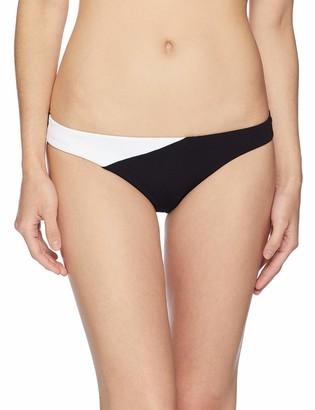 Jets Women's Classique Contrast Bikini Bottom Swimsuit