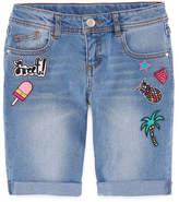 Total Girl Denim Bermuda Shorts - Big Kid Girls