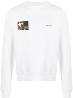 Off-White Caravaggio Angel sweatshirt
