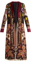 Etro Anil Suzani reversible coat