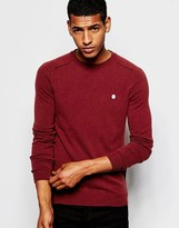 Antony Morato Wool & Cashmere Mix Knitted Jumper - Red