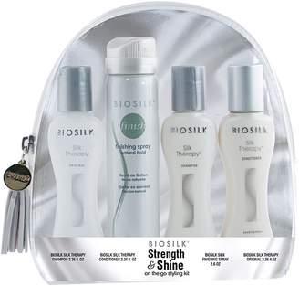 BioSilk STRENGTH & SHINE On the Go Styling Kit