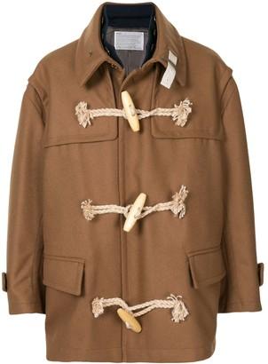 Kolor Oversized Duffle Coat