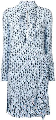 Prada printed shift dress