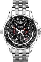 Sekonda Men'S World Timer Chronograph Bracelet Watch (90Hah48)