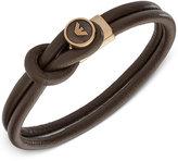 Armani Exchange Emporio Armani Men's Leather Toggle Bracelet EGS2213251
