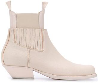 MM6 MAISON MARGIELA Cowboy Ankle Boots