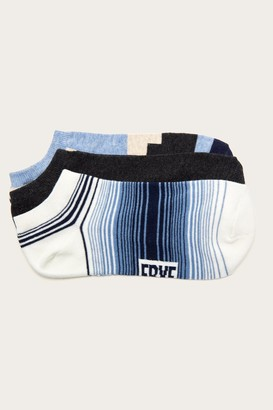 The Frye Company 3 Pack Ombre Stripe Sock - Men