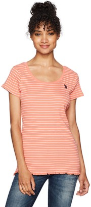 U.S. Polo Assn. Women's Short Sleeve Fashion T-Shirt