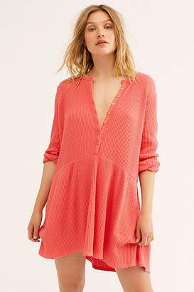 Free People Fp Beach Blossom Button-Up T-Shirt Dress by FP Beach at