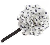 Polka Dot Corsage Headband