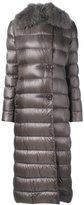 Herno long padded coat