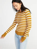 Old Navy Plush Rib-Knit Sweater for Women