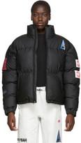 adidas By Alexander Wang by Alexander Wang Black Flex2Club Puffer Jacket