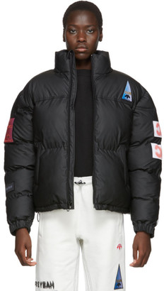 Adidas Originals By Alexander Wang Black Flex2Club Puffer Jacket