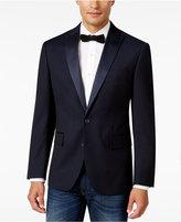 Ryan Seacrest Distinction Men's Slim-Fit Blue Geo Dinner Jacket, Only at Macy's