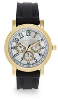 Saks Fifth Avenue Goldtone-Finished Stainless Steel Strap Watch