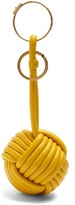 Balenciaga Danish-knot leather key ring