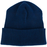 Stella McCartney Ribbed Fold Over Beanie