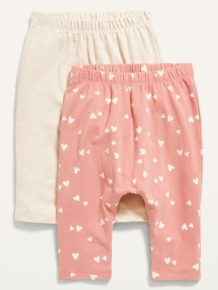 Old Navy U-Shaped Jersey-Knit Pants 2-Pack for Baby