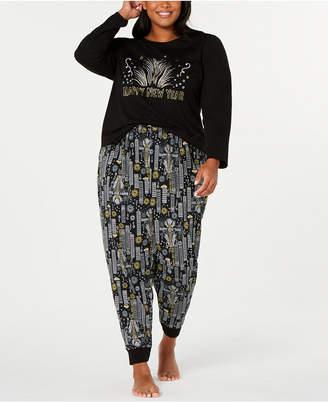 Matching Family Pajamas Plus Size New Year Pajama Set