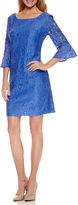 Studio 1 3/4 Sleeve Lace Sheath Dress