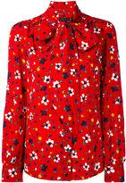 Marc Jacobs floral-print blouse - women - Silk - 4