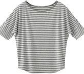 Blocking Striped Short Sleeve T