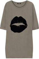 Markus Lupfer Smacker flock-print T-shirt
