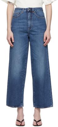 Totême Blue Flare Fit Jeans