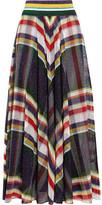 Missoni Metallic Crochet-knit Maxi Skirt - IT44