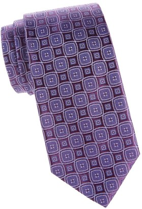Charvet Diamond In Diamond Silk Tie