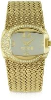 Just Cavalli Rich - Golden Weave Bracelet Watch