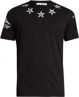 Givenchy Star-print cotton-jersey T-shirt