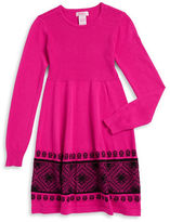 Design History Girls 7-16 Ribbed Knit Dress