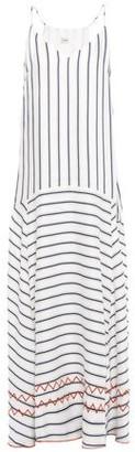 Charli Embroidered Jacquard Maxi Dress