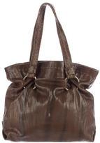 Henry Beguelin Textured Leather Shoulder Bag
