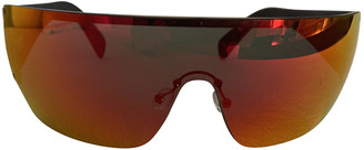Celine Orange Plastic Sunglasses