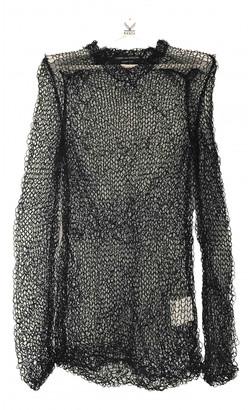 Comme des Garcons Black Polyester Knitwear & Sweatshirts