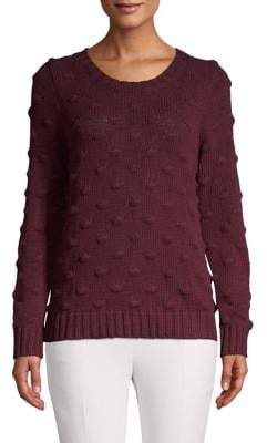Vince Camuto Textured Cotton Sweater