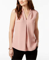 Nine West Center-Pleat Top