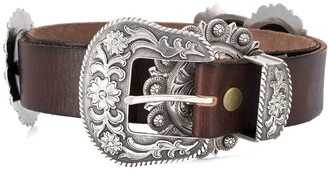 Jessie Western Star plate buckle belt